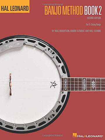 Hal Leonard Banjo Method - Book 2: For 5-String Banjo