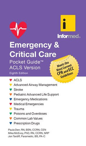 Emergency  &  Critical Care Pocket Guide, Revised Eighth Edition