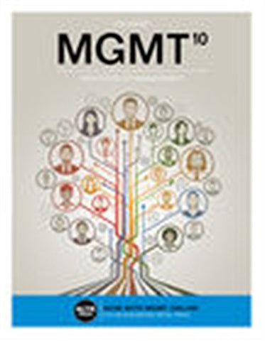 MGMT (with MGMT Online, 1 term (6 months) Printed Access Card) (New, Engaging Titles from 4LTR Press)