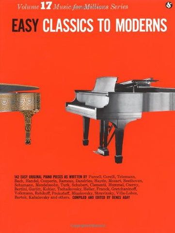 Easy Classics to Moderns (Music for Millions, Vol. 17)