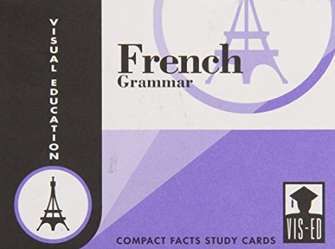 French Grammar Cards: Compact Facts