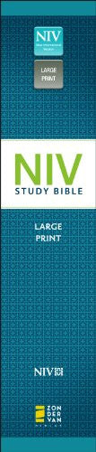 NIV Study Bible, Red Letter Edition