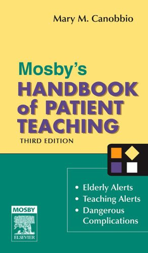 Mosby's Handbook of Patient Teaching, 3e