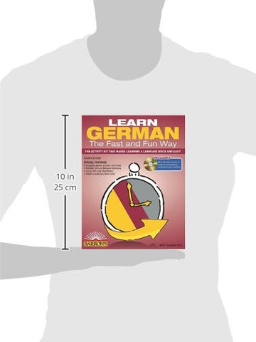 Learn German the Fast and Fun Way with MP3 CD: The Activity Kit That Makes Learning a Language Quick and Easy! (Fast and Fun Way Series)