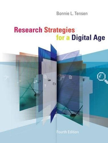 Research Strategies for a Digital Age