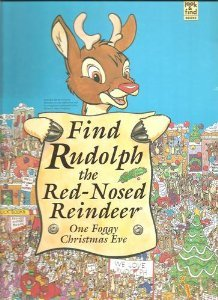 Find Rudolph the Red-Nosed Reindeer: One Foggy Christmas Eve (Look & Find Books)