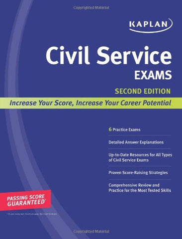 Kaplan Civil Service Exams (Kaplan Test Prep)