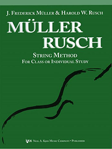 51VN - KJOS Muller-Rusch String Method 1 Violin Book