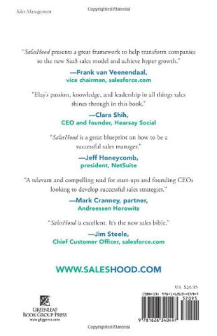 Saleshood: How Winning Sales Managers Inspire Sales Teams to Succeed