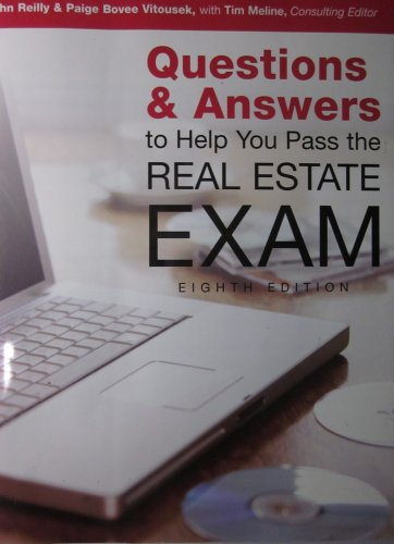 Questions & Answers to Help You to Pass the Real Estate Exam (Dearborn Education)