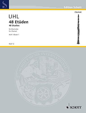 48 STUDIES FOR CLARINET VOL1 (Edition Schott)
