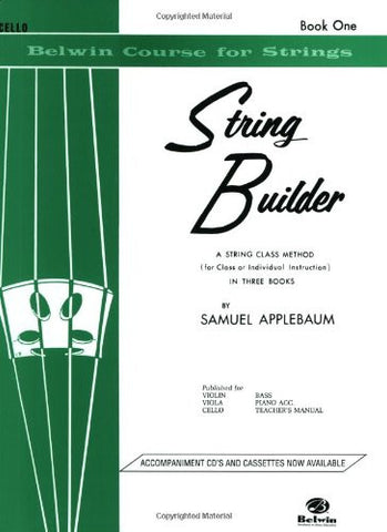 String Builder, Bk 1: Cello (Belwin Course for Strings)