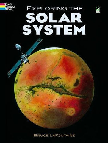 Exploring the Solar System (Dover Nature Coloring Book)