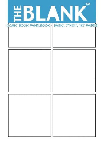"The Blank Comic Book Panelbook - Basic, 7""x10"", 127 Pages"