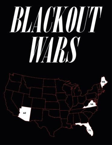 Blackout Wars: State Initiatives To Achieve Preparedness Against An Electromagnetic Pulse (EMP) Catastrophe