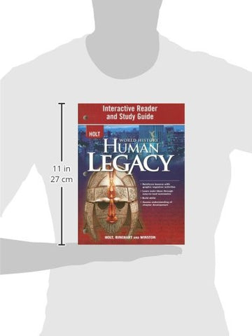 World History: Human Legacy: Interactive Reader and Study Guide