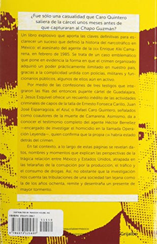 La CIA, Camarena y Caro Quintero (The CIA, Camarena, and Caro Quintero (Spanish Edition)