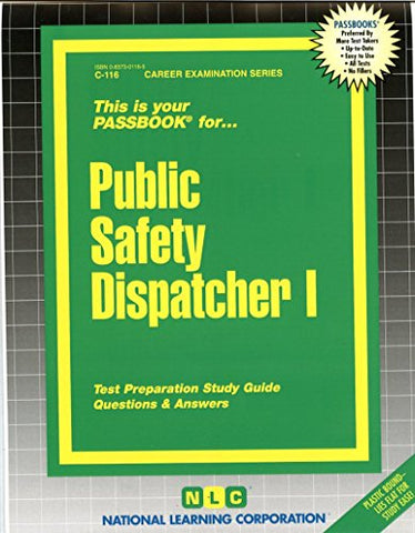 Public Safety Dispatcher I(Passbooks) (Career Examination Passbooks)