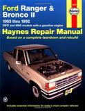 Haynes Automotive Repair Manual: Ford Ranger & Bronco II, 1983 thru 1992