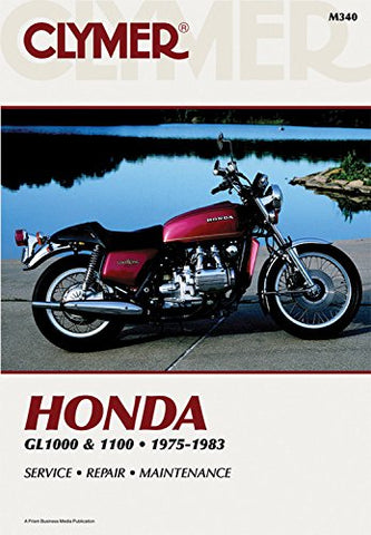 Honda, Gl1000 and 1100 Fours 1975-1983 (Clymer Powersport)