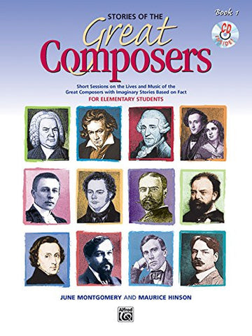 Stories of the Great Composers: Book & CD (Learning Link)