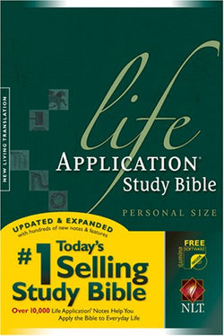 Life Application Study Bible NLT, Personal Size