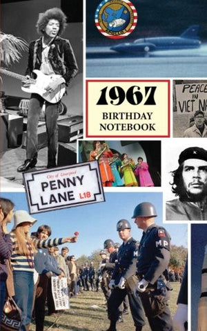 1967 Birthday Notebook: a great alternative to a birthday card