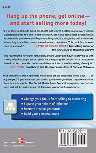The Social Media Sales Revolution: The New Rules for Finding Customers, Building Relationships, and Closing More Sales Through Online Networking -