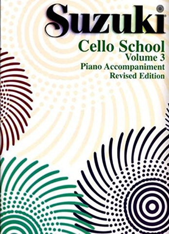 Suzuki Cello School, Piano Accompaniment: Volume 3