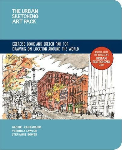 Urban Sketching Art Pack: Exercise Book and Sketchpad for Drawing on Location Around the World – Adapted from the bestselling Urban Sketchin