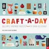 Craft-a-Day 2015 Day-to-Day Calendar: 365 Simple Handmade Projects