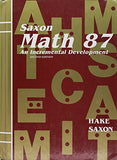 Saxon Math 87: An Incremental Development