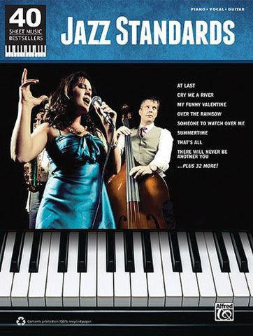 40 Sheet Music Bestsellers: Jazz Standards PVG