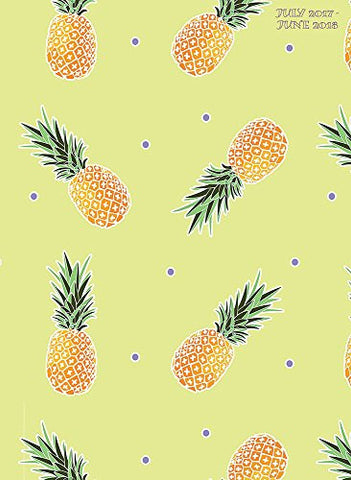 2018 Academic Year Pineapples Monthly Planner