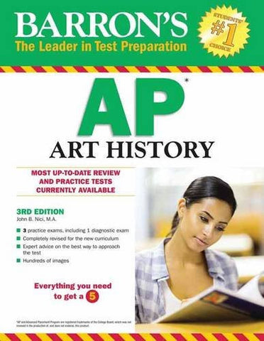 Barron's AP Art History, 3rd Edition