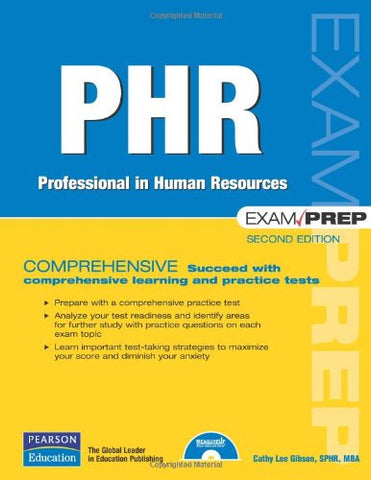 PHR Exam Prep: Professional in Human Resources (2nd Edition)