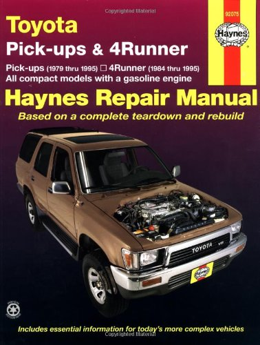 Toyota Pickup   '79'95 (Haynes Repair Manuals)