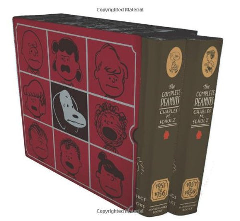 The Complete Peanuts 1955-1958 Box Set