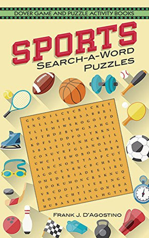 Sports Search-a-Word Puzzles (Dover Children's Activity Books)