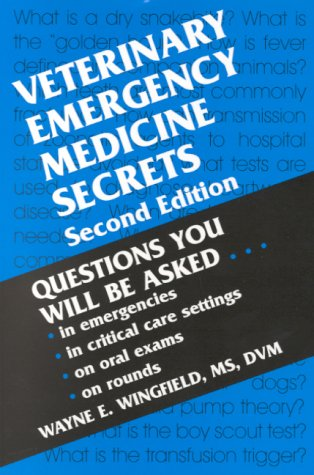 Veterinary Emergency Medicine Secrets, 2e