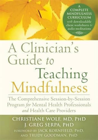 A Clinician's Guide to Teaching Mindfulness: The Comprehensive Session-by-Session Program for Mental Health Professionals and Health Care Pr