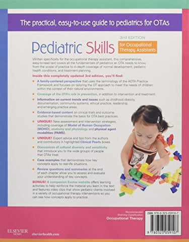Pediatric Skills for Occupational Therapy Assistants, 3e