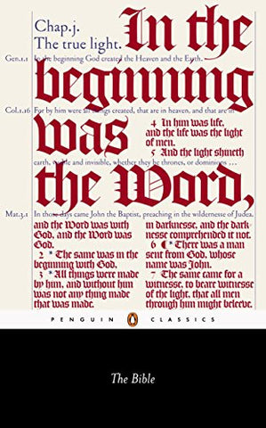 The Bible (Penguin Classics)