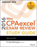 Wiley CPAexcel Exam Review 2016 Study Guide January: Regulation (Wiley Cpaexcel Exam Review Regulation)