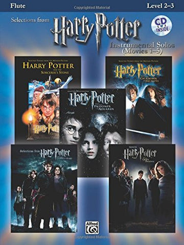 Harry Potter Instrumental Solos (Movies 1-5): Flute, Book & CD (Pop Instrumental Solo Series)