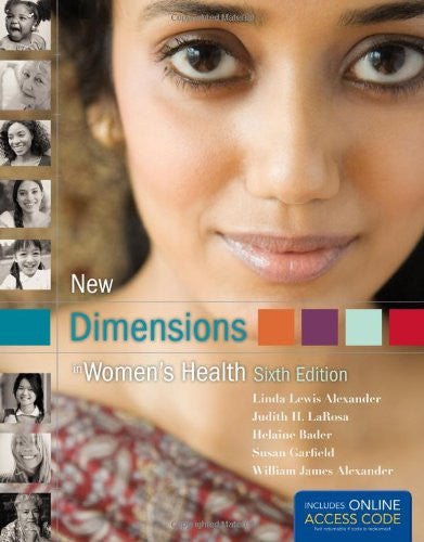 New Dimensions In Women's Health - Book Alone