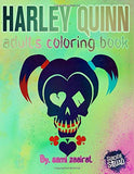 Harley quinn: adults coloring book