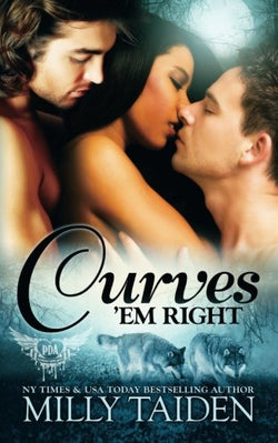 Curves 'em Right (BBW Paranormal Shape Shifter Romance) (Paranormal Dating Agency) (Volume 4)