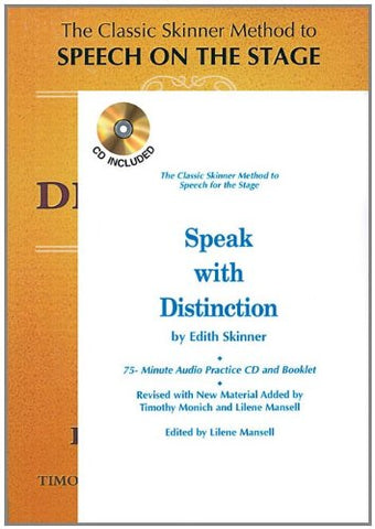 Speak With Distinction (Textbook and CD)