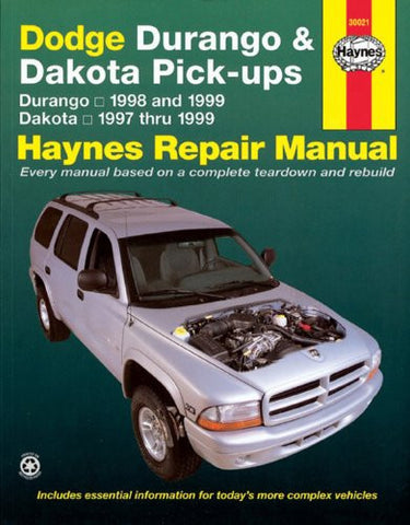 Dodge Durango and Dakota Pick-Ups 1997-99 (Haynes Manuals)